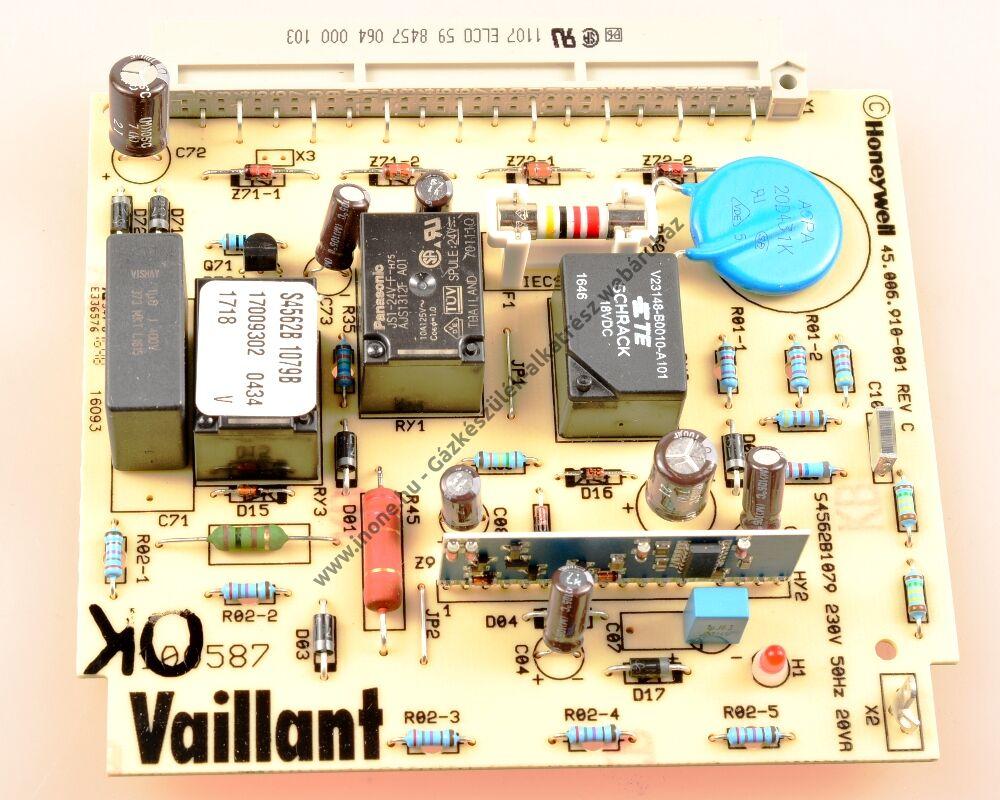 Égőautomatika panel